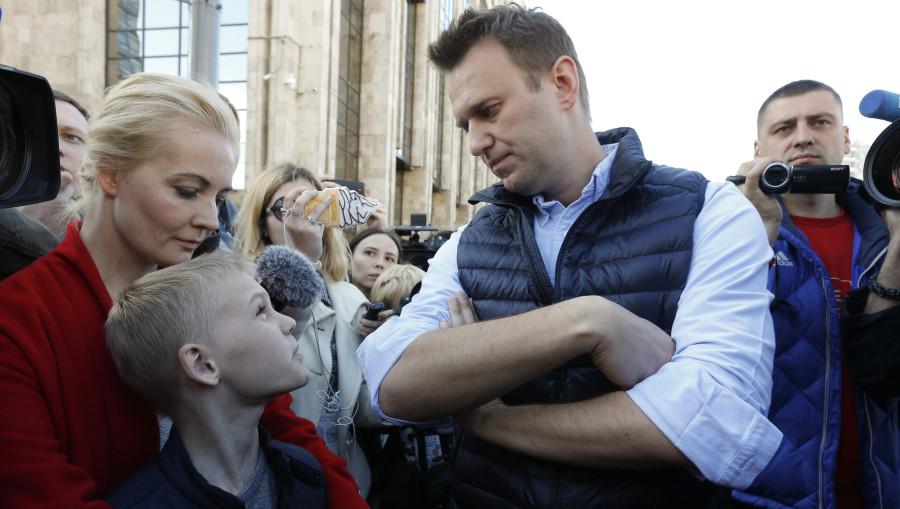 Гурцкая навалял Навальному