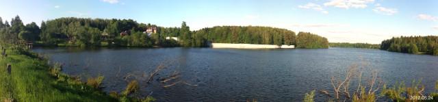 Фото прибрежной полосы Ильинского пруда