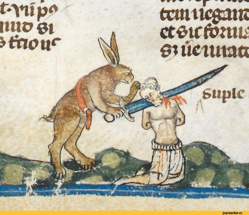 зайцы-живность-средневековье-иллюстрации-1063772