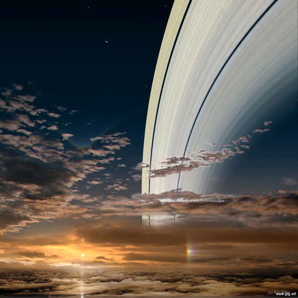 на сатурне