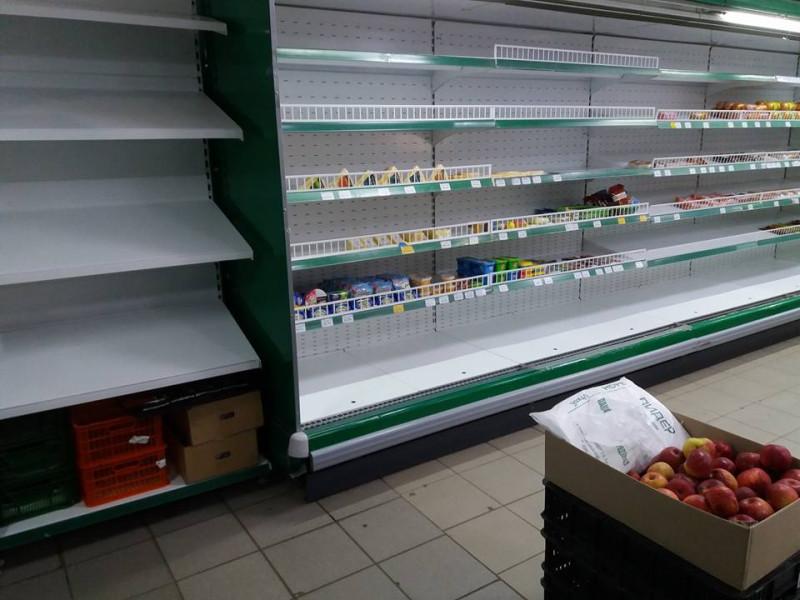 Полупустые полки в магазинах, что происходит?