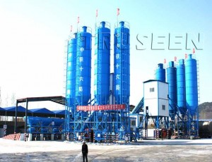 двойной бетонный завод
