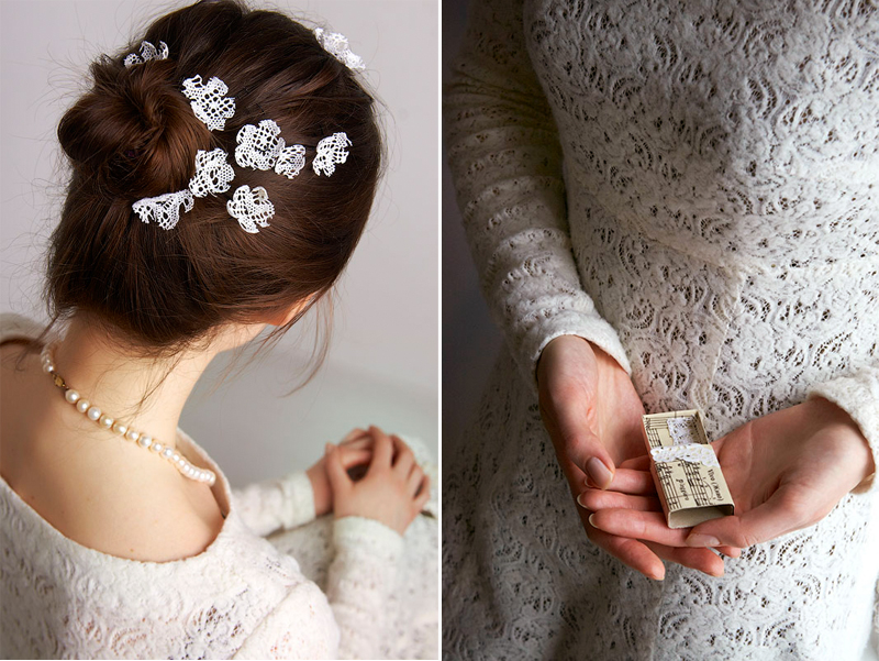 Женщина кружевное свадебное платье