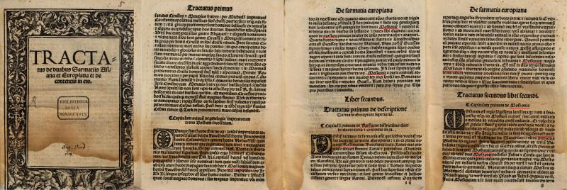Moscovia Sarmatia 1518