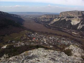 Бельбекская долина и село Большое Садовое
