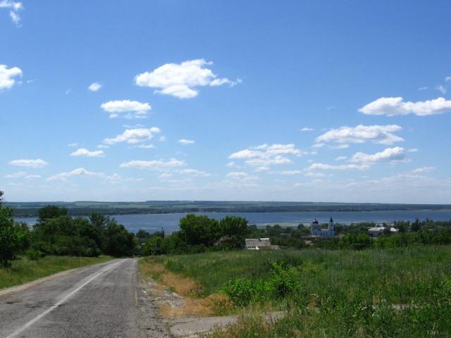 Въезд в Сеньково