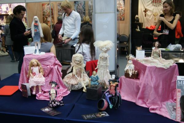 8 Международный салон кукол авторские коллекционные куклы Жукова Мария Макаревич на выставке кукол