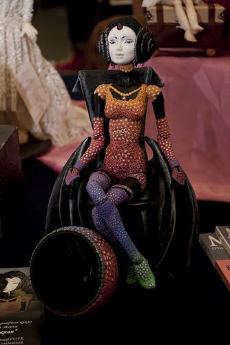 8 Международный салон кукол авторские коллекционные куклы БЖД Жуковой Марии