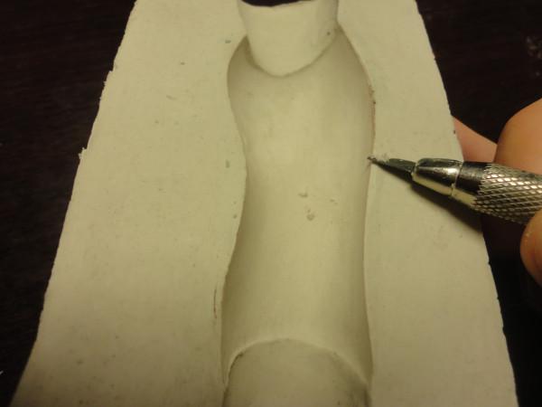 Как снимать гипсовые формы? мастер-класс по сниятию форм урок авторская шарнирная кукла Жуковой Марии
