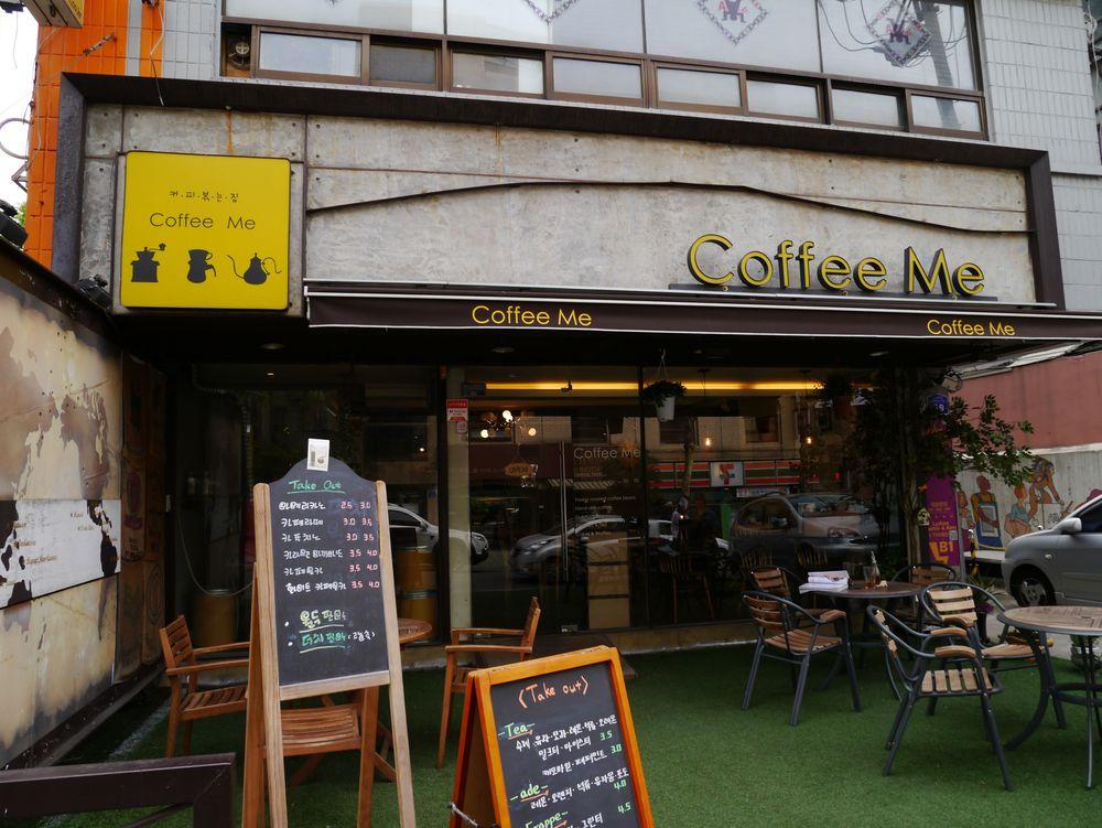 Сеул кофейня