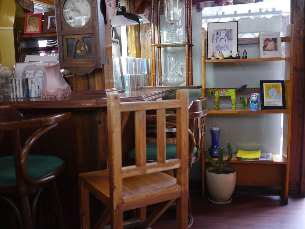 Сеул кофейня матрешки 1