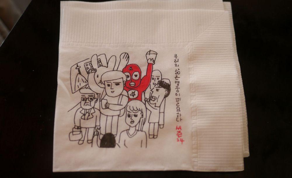Сеул кофейня матрешки 3