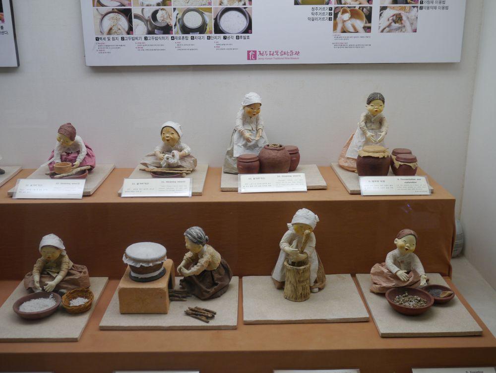 Чончжу Ханок музей макколи 2