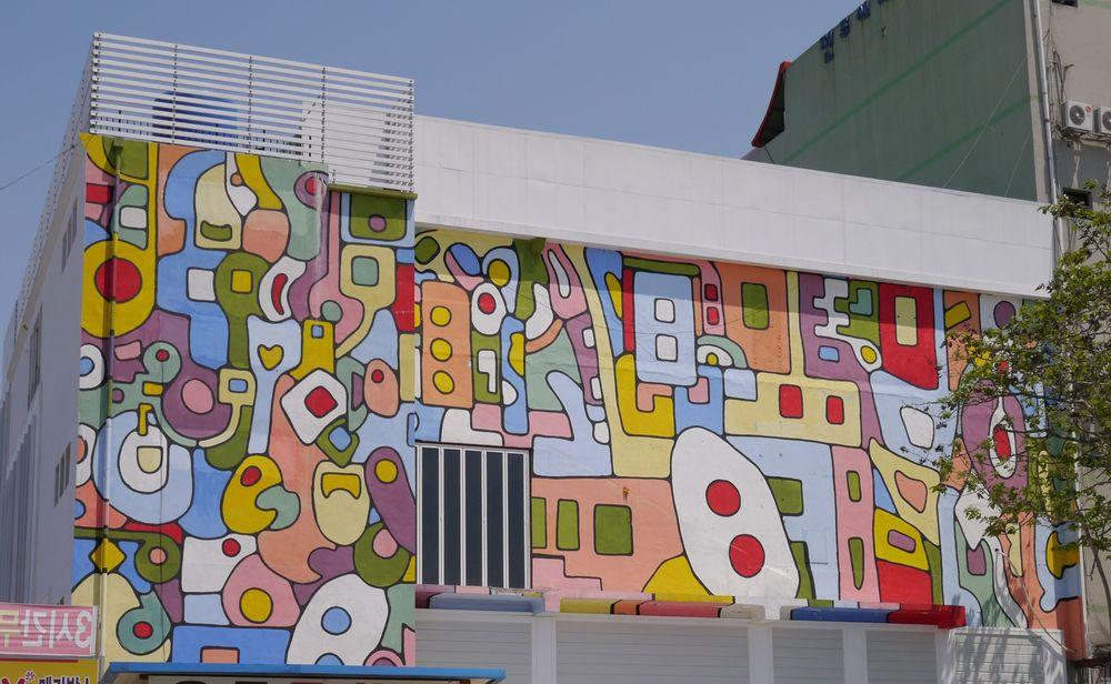 Чончжу граффити