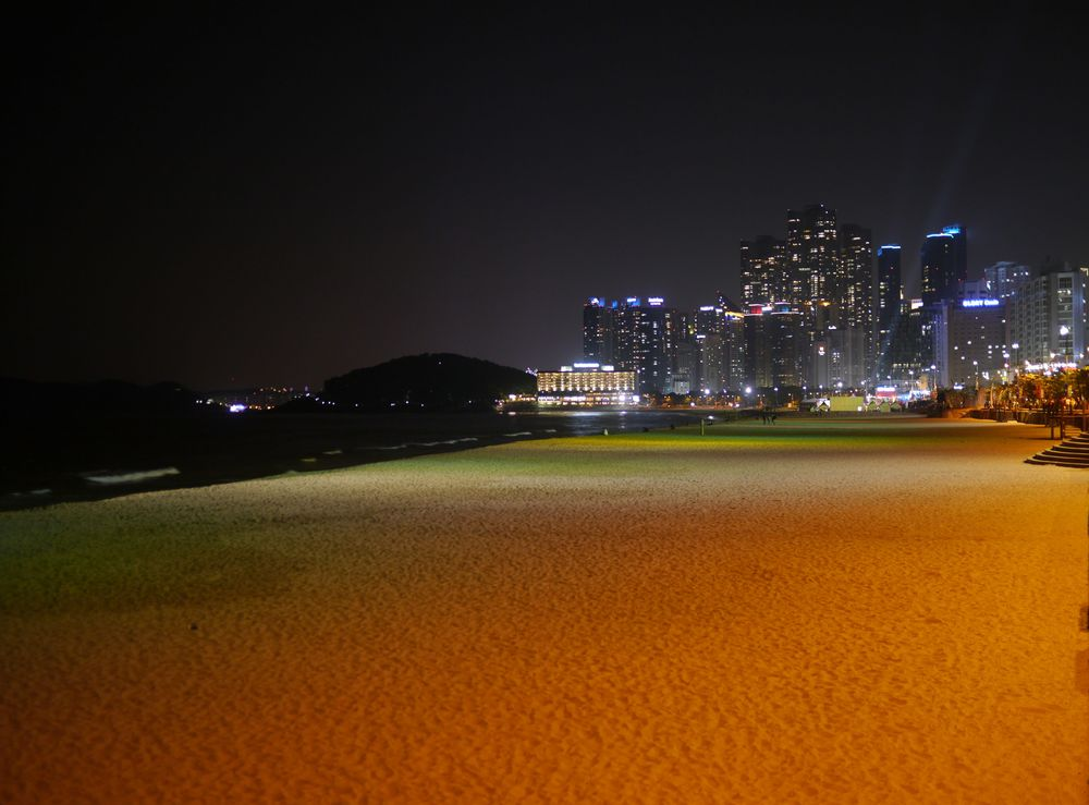 Пусан пляж