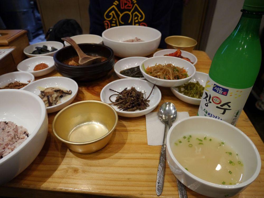 Сеул еда 1