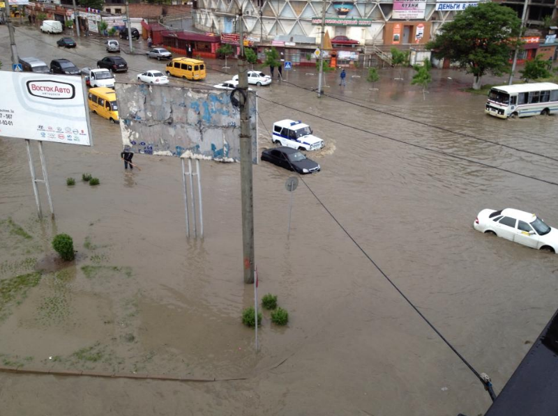 Дагестан, Махачкала, дождь, затопление