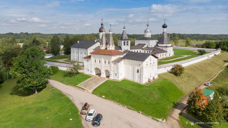 Ферапонтов Белозерский монастырь в Вологодской области