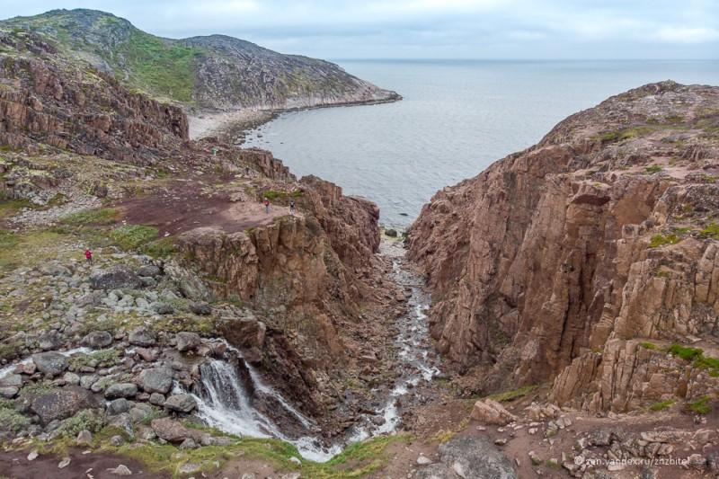 Водопад и Северный Ледовитый океан