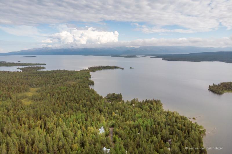 Имандра — самое большое озеро Мурманской области