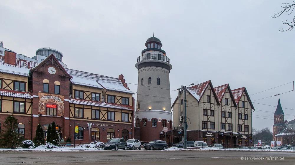 Рыбная деревня — современные постройки, стилизованные под старину