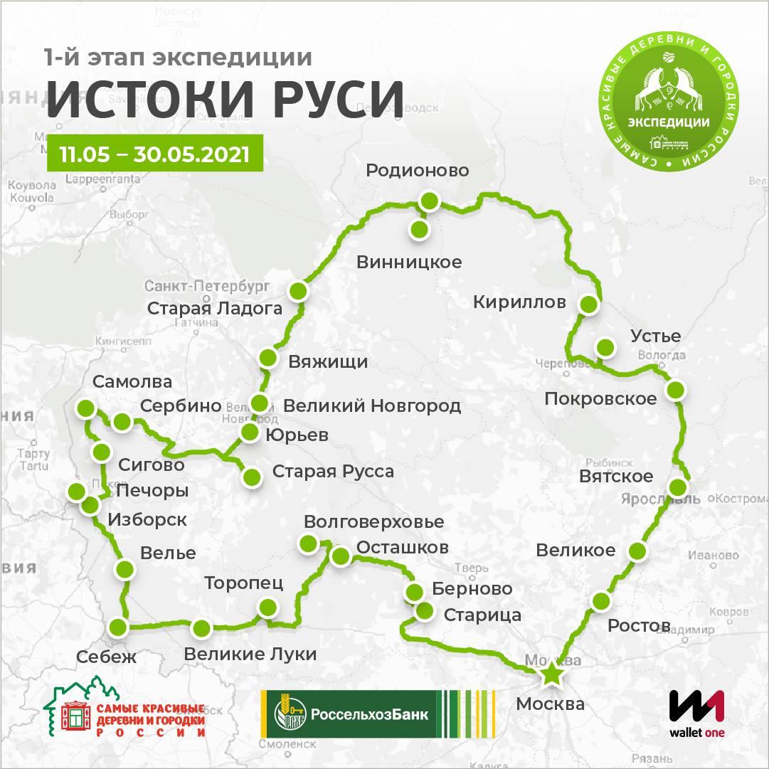 Экспедиции по самым красивым деревням и городкам России новости,партнеры