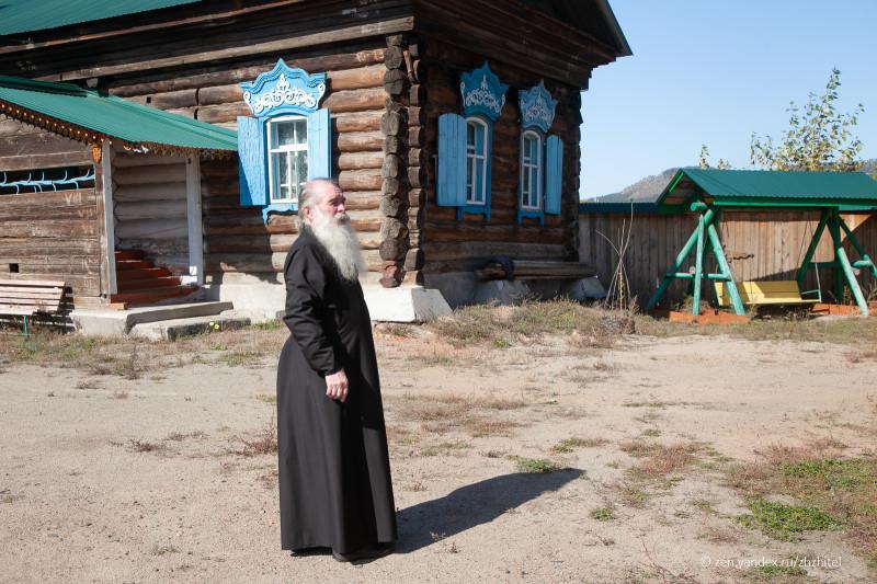 Отец Сергий, настоятель Никольского храма Русской древлеправославной церкви
