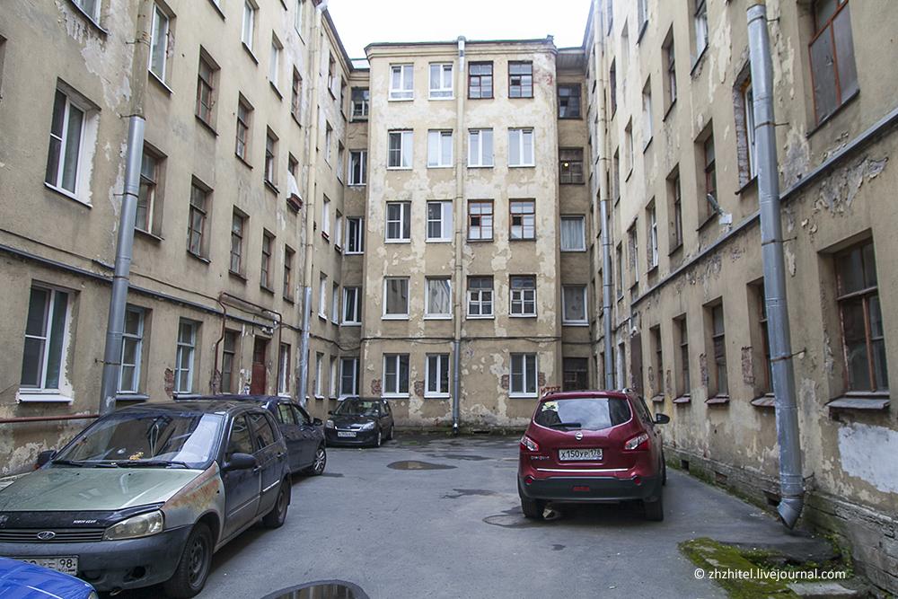 Мини-отель в Санкт-Петербурге. Вид снаружи
