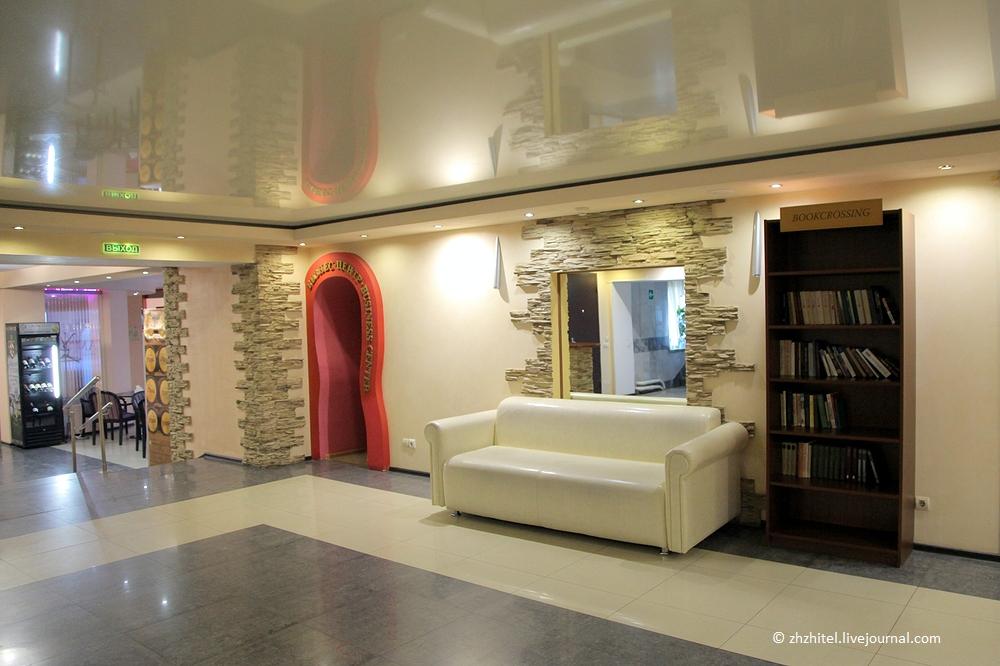 Обзор гостиницы АМАКС Турист-отель в Уфе