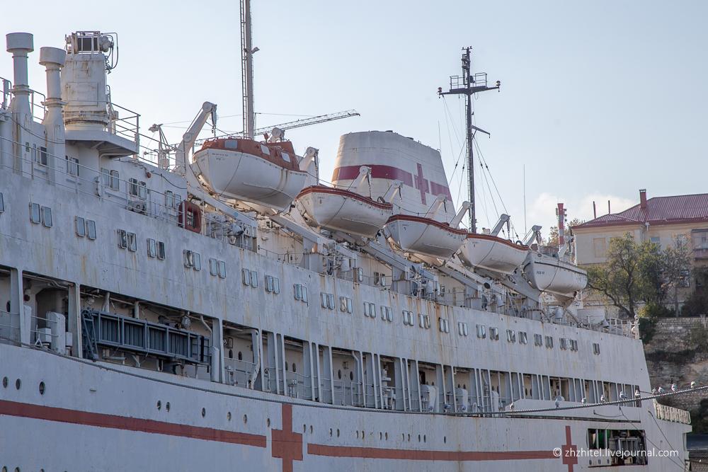 Госпитальное судно «Енисей» в Севастополе