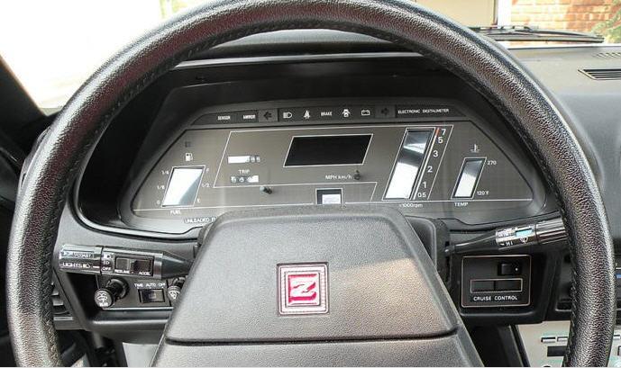 Nissan (Datsun) 280ZX Turbo GL (1983)