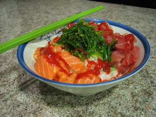Spicy Sashimi Bowl