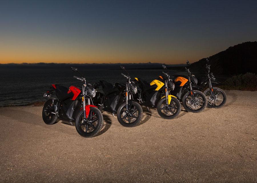Все мотоциклы Zero 2014 г.