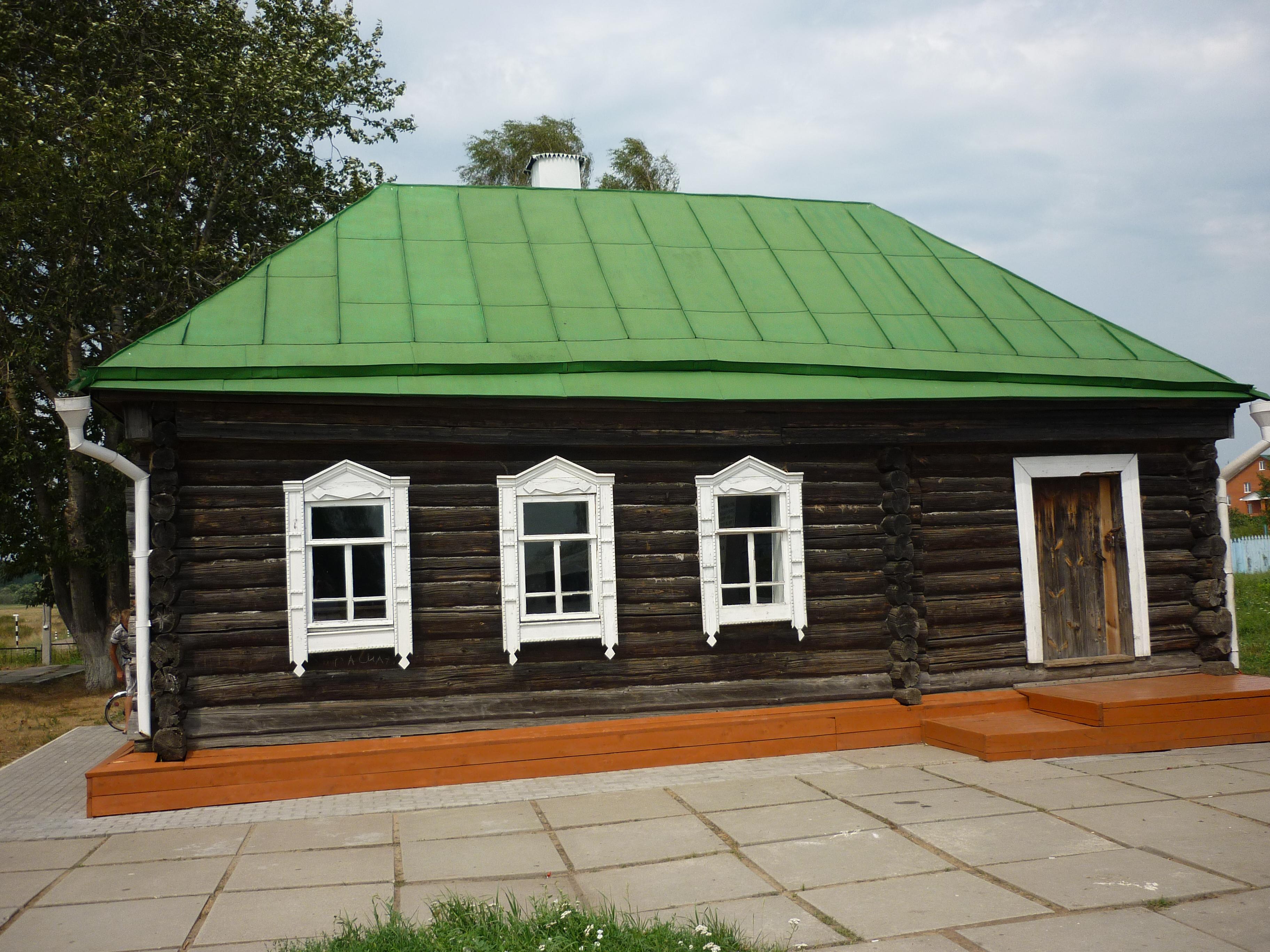 д.Стрелковка.Дом Г.К. Жукова, в котором он родился и прожил первые полтора десятка лет своей жизни