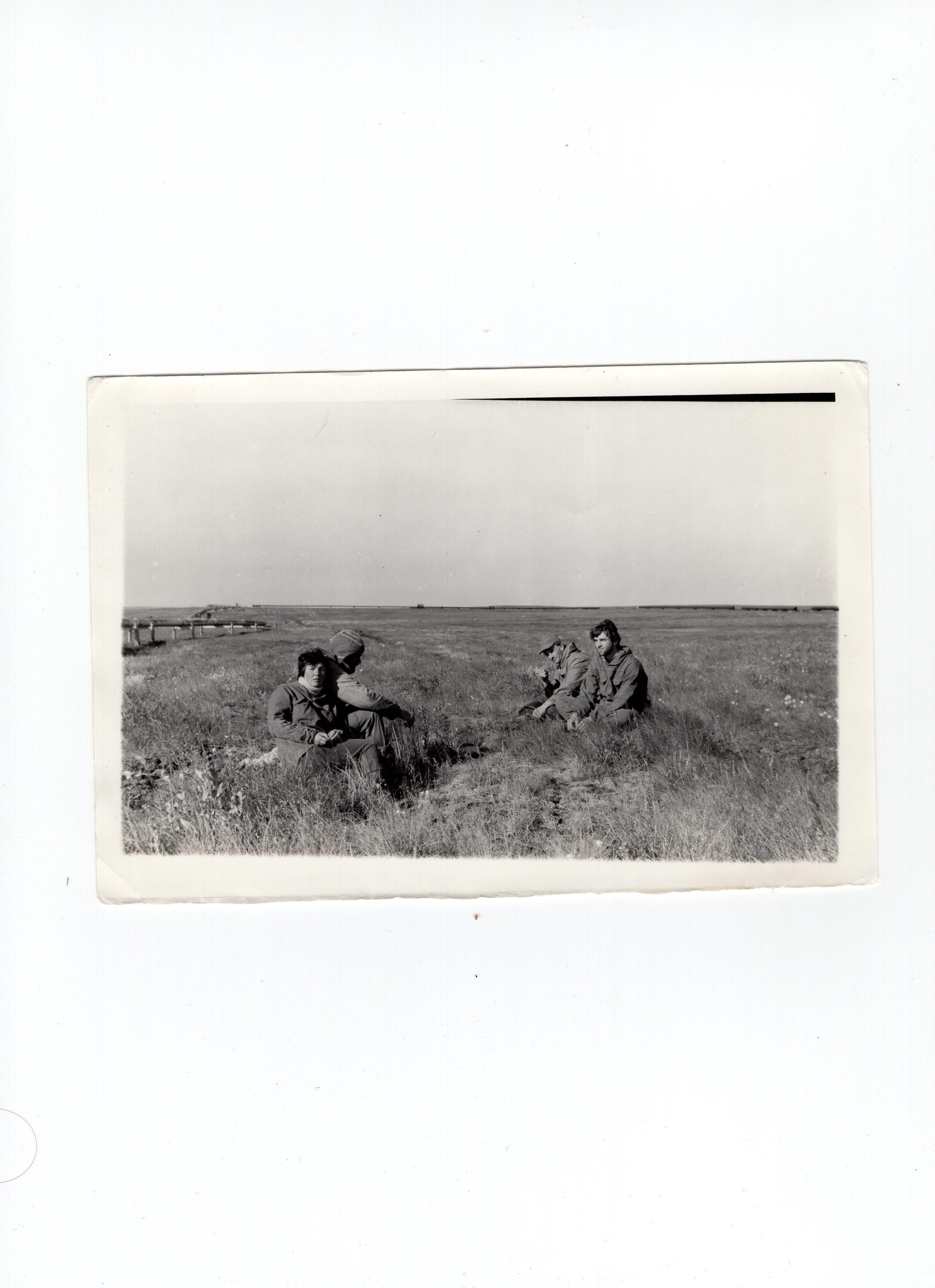 1987 год, Северный отряд, Географический факультет,МГУ, в должности рабочего.jpg