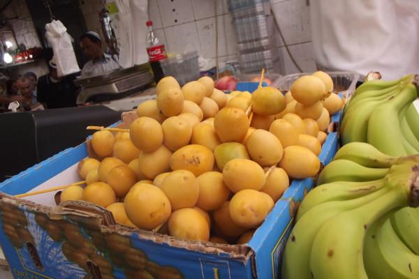 Подготовка к Рош а Шана    на иерусалимском  рынке