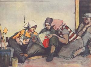 Кадушкин Алексей Михайлович (Россия, 1925-1984) «Обеденный перерыв».jpg