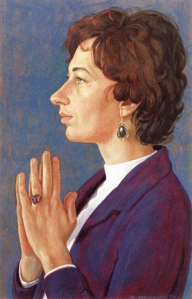 Портрет Т. А. Павловой. 1974.jpg