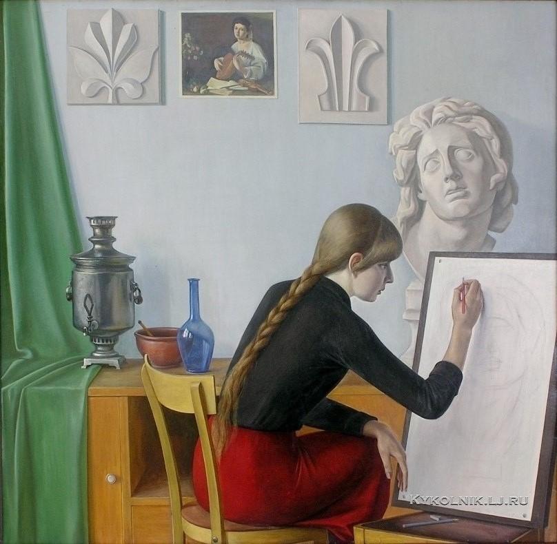 Чекмасов Валентин Сергеевич (Россия, 1940) «В мире прекрасного» 1989.jpg