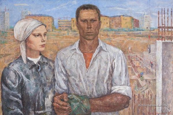 Протопопов Георгий Евгеньевич (1931) «Мечтатели» 1965.jpg