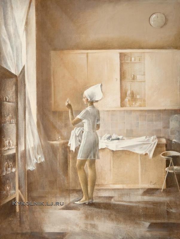 Татарников Олег Георгиевич (1937) «Утро» 1980.jpg
