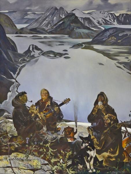 Блиок Андрей Николаевич (1946) «Северная песня» 1970-е.jpg