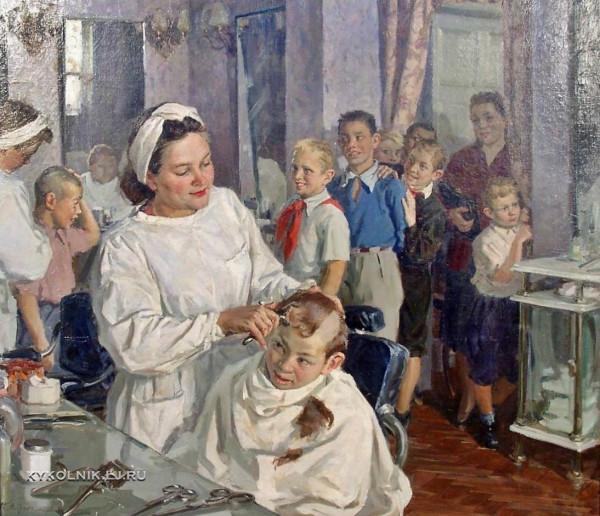 Суздальцев Михаил Аркадьевич (.1917-1998) «Завтра в школу» 1951.jpg