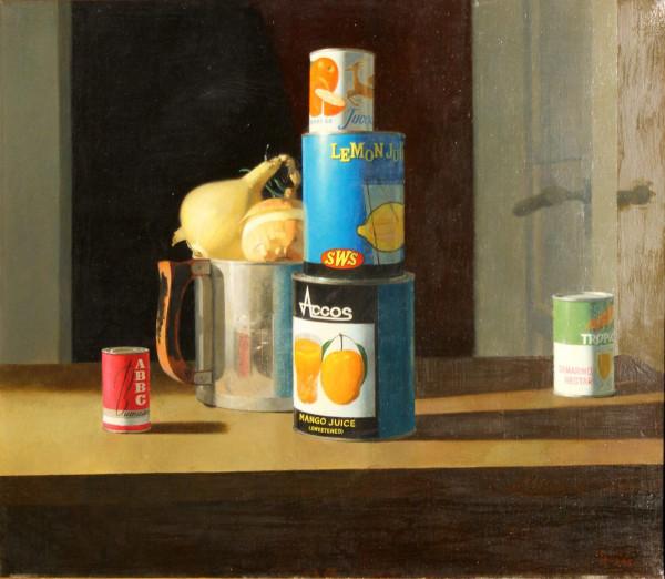 Ланцманис Имант (1941) «Натюрморт» 1969.jpg