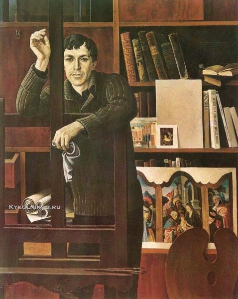 Неледва Галина Александровна (Украина, 1938) «Портрет художника».jpg