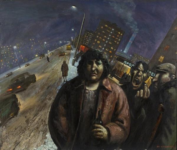 Шульженко Василий Владимирович (1949) «Улица» 1989.jpg