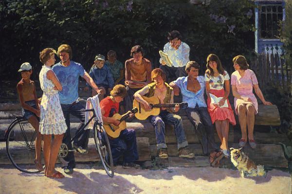 С.Н. Сергеев «Мои товарищи»,1977 год..jpg