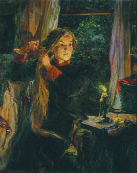 Тимошенко Лидия Яковлевна (1903-1976) «Кавалерист-девица Надежда Дурова» 1945.jpg