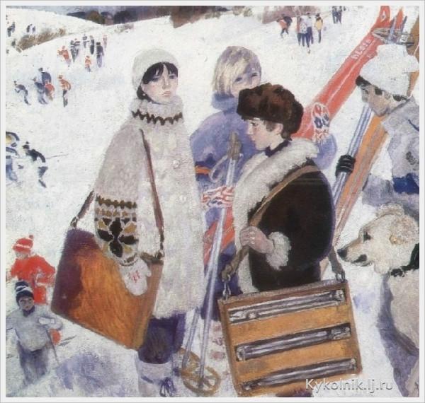 Богаевская Ольга Борисовна (Россия, 1915-2000) «Зимние каникулы».jpg