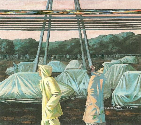Мелик Арифович Агамалов (1965) «Встреча» 1986.jpg